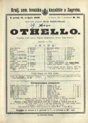 Othello Tragedija u pet činova