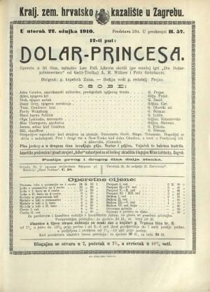 Dolar-Pricesa Opereta u tri čina