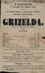 Grizelda : Drama u 5 činah / od Fridrika Halma