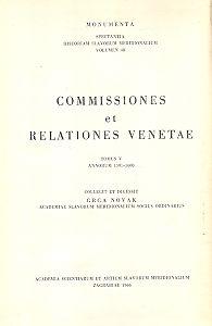 Sv. 5 : Od 1591 do 1600 godine = T. 5. : Annorum 1591 - 1600 : Monumenta spectantia historiam Slavorum meridionalium