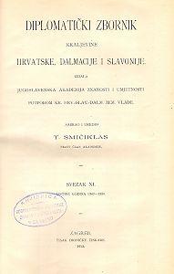 Sv. 11: Listine godina : 1342-1350 : Diplomatički zbornik Kraljevine Hrvatske, Dalmacije i Slavonije