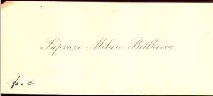 Supruzi Milan Betlheim