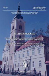 Vol. 1 (2014) : Civitas Crisiensis