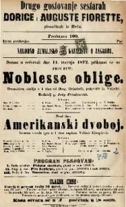 Noblesse oblige : dramatična studija u 1 činu / od Drag. Gründorfa