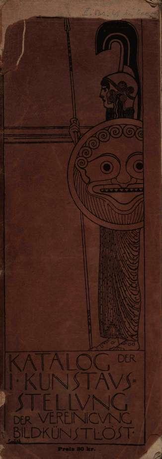 Katalog der I. Kunstausstellung der Vereinigung Bildender Kunstler Osterreichs