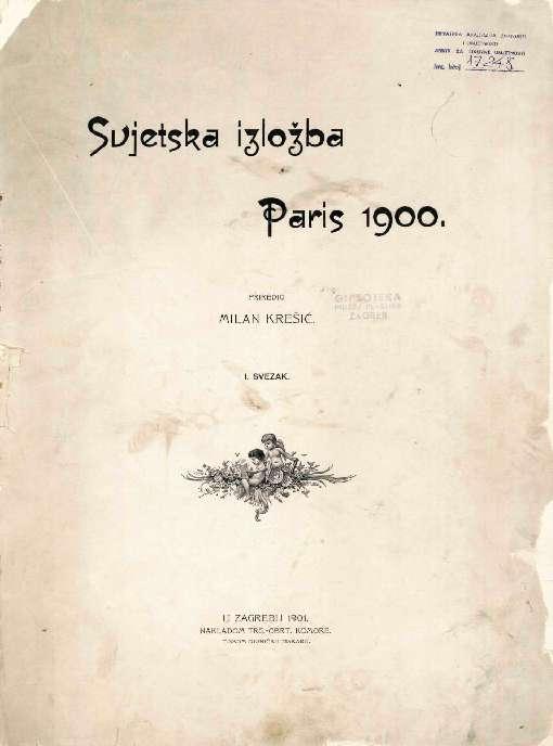 Svjetska izložba Paris 1900.