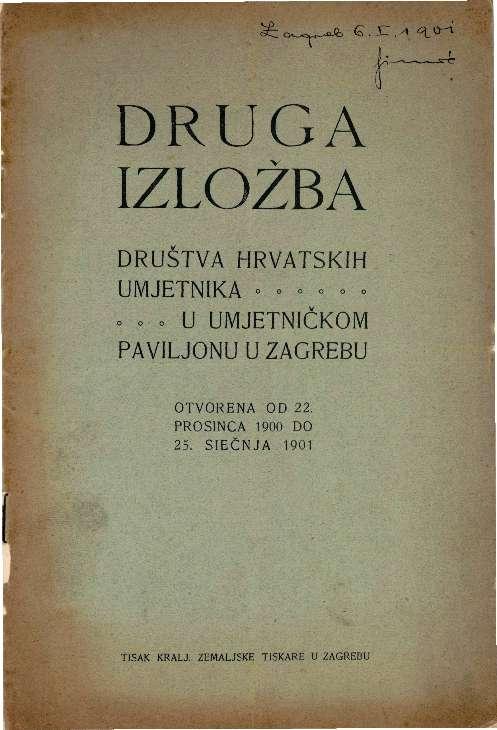 Druga izložba Društva hrvatskih umjetnika