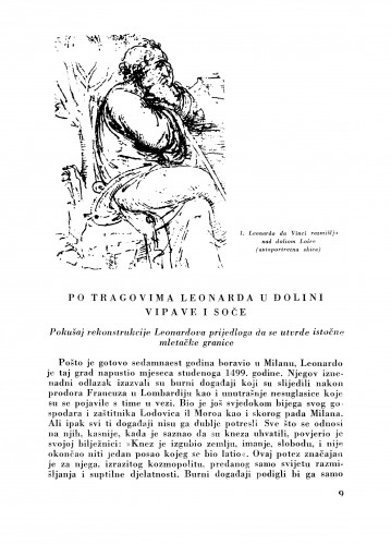 Po trgovima Leonarda u dolini Vipave i Soče : Bulletin Zavoda za likovne umjetnosti Jugoslavenske akademije znanosti i umjetnosti