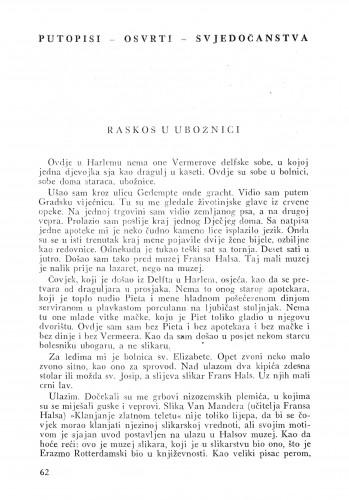Raskoš u ubožnici : Bulletin Instituta za likovne umjetnosti Jugoslavenske akademije znanosti i umjetnosti