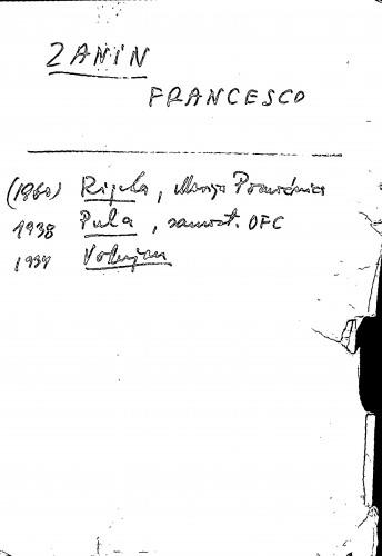 Zanin Francesco