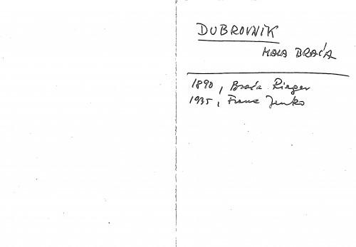 Dubrovnik Mala braća