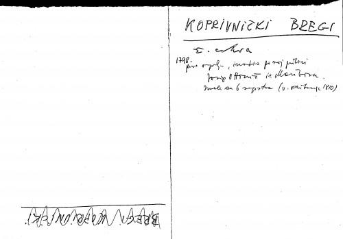 Koprivnički bregi ž. crkva