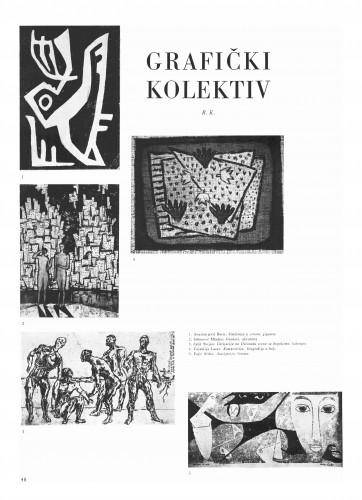 Grafički kolektiv : Bulletin Instituta za likovne umjetnosti Jugoslavenske akademije znanosti i umjetnosti