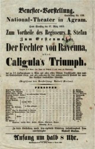 Caligula's Triumph Tragödie in 5 Acten