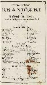 Graničari ili Proštenje na Ilijevu izvorni narodni igrokaz s pjevanjem u tri razdiela