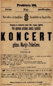 Koncert gdčne. Marije Prikrilove