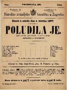Poludila je igrokaz u 3 čina / napisao Melesville