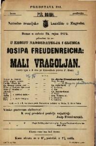 Mali vragoljan vesela igra u 3 čina / po francezkom preveo P. Brany