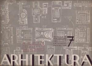 """""""Naše građevinarstvo"""", god. II., broj 1-2 : Arhitektura"""