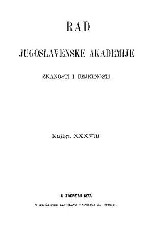 Knj. 38(1877) : RAD