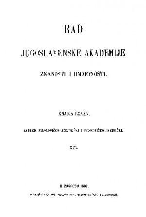 Knj. 17(1887) : RAD