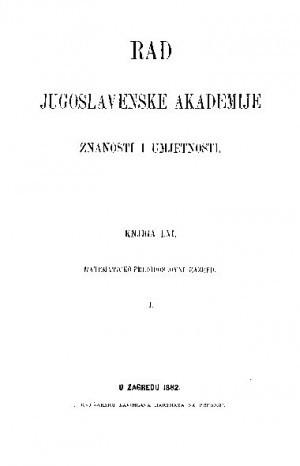 Knj. 1(1882) : RAD