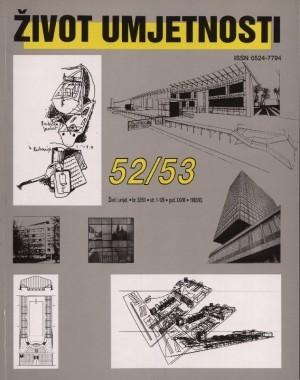 O razvitku moderne arhitekture u Hrvatskoj : Život umjetnosti