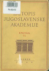 Za godinu 1964. Knj. 71 : Ljetopis