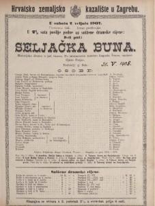 Seljačka buna historijska drama u pet činova