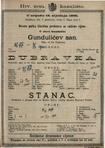 Dubravka Pastirska igra u tri čina / spjevao Ivan Fran Gundulić