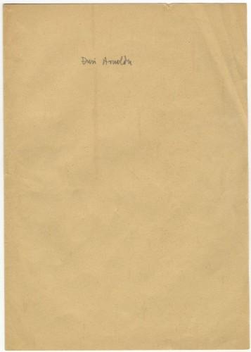 Pismo Gjuri Arnoldu