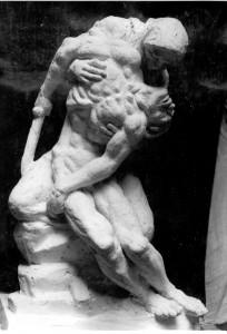 Radauš, Vanja (1906-1975)  ; Turkalj, Jozo (1890) : Skica za Spomenik palim junacima na Mirogoju