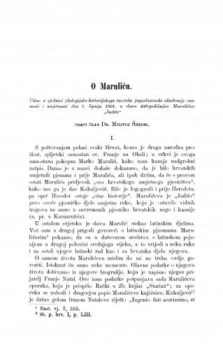O Maruliću