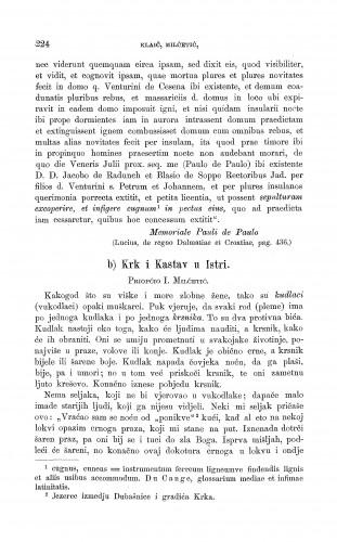 Krk i Kastav u Istri : vukodlak i krsnik : Zbornik za narodni život i običaje