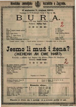 Bura drama u tri čina / napisao Srgjan Tucić