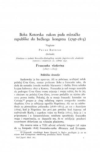 Boka Kotorska nakon pada mletačke republike do bečkoga kongresa (1797-1815)