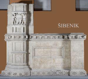 Detalj arhitekture sjeverne fasade katedrale sv. Jakova