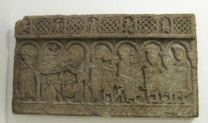 Plutej s prizorom Kristova rođenja i poklonstva kraljeva