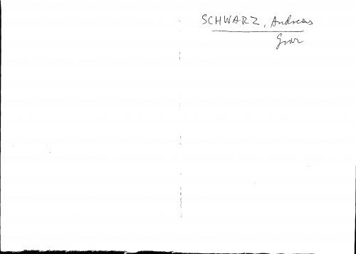 Schwarz Andreas Graz