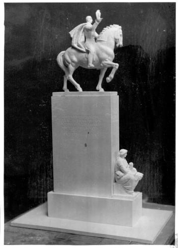 Radauš, Vanja (1906-1975) : Skica za spomenik kralju Petru u Novom Sadu