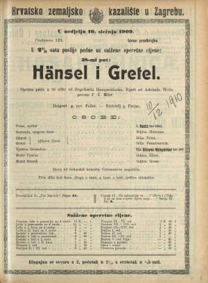 Hänsel i Gretel Operna priča u 3 slike