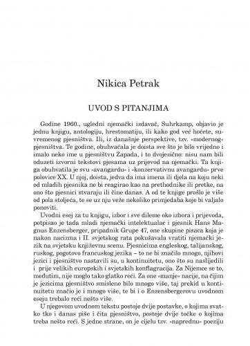 Uvod s pitanjima : Forum : mjesečnik Razreda za književnost Hrvatske akademije znanosti i umjetnosti.
