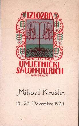 Mihovil Krušlin 15.-25. Novembra 1925.