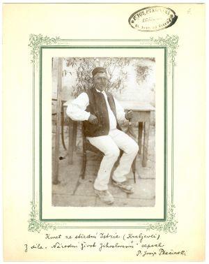 Kmet iz srednje Istre (Kraljevci) [Ptašinsky, Josef (1863-1908) ]