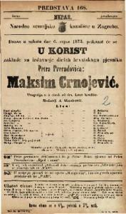 Maksim Crnojević Tragedija u 5 činah / od dra. Laze Kostića