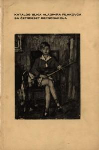 Katalog slika Vladimira Filakovca sa četrdeset reprodukcija
