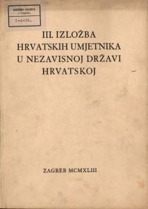 III. izložba hrvatskih umjetnika u Nezavisnoj državi Hrvatskoj