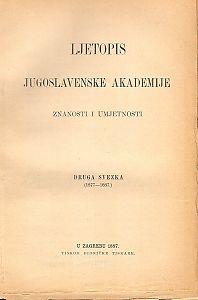 Sv. 2 (1877-1887) : Ljetopis