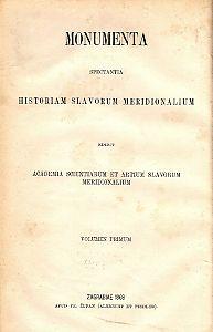 Knj. 1 : Od godine 960 do 1335 : Monumenta spectantia historiam Slavorum meridionalium