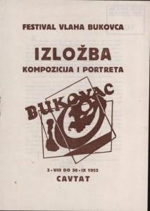 Festival Vlaha Bukovca - Izložba kompozicija i portreta